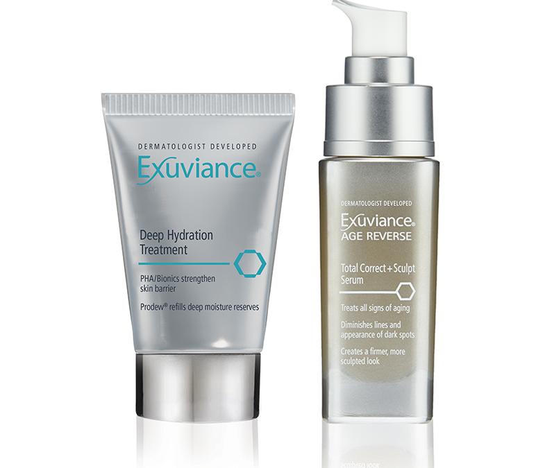 Exuviance nyheter - Deep Hydration Treatment och Age Reverse Total Correct Serum